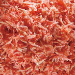 Wind-dried shrimps